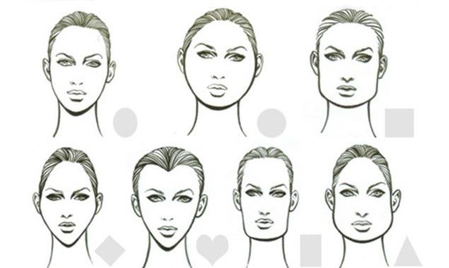 Taglio capelli corti lisci viso lungo