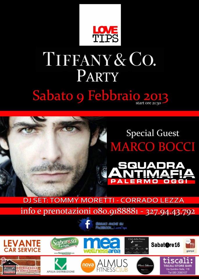 Marco Bocci Ospite Mimì Colonna Love Tips Tiffany Party