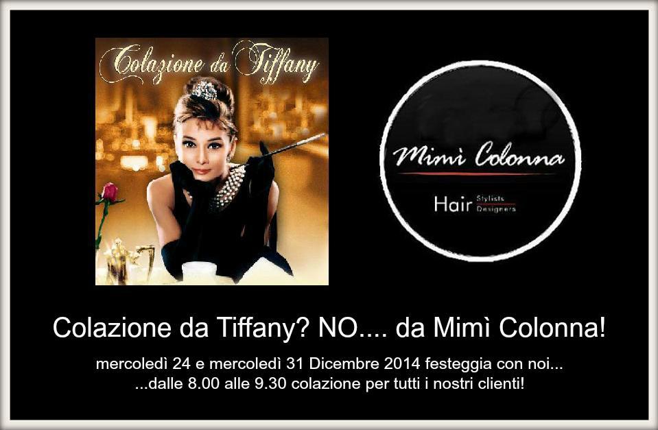 Colazione da Tiffany? No... da Mimì Colonna!