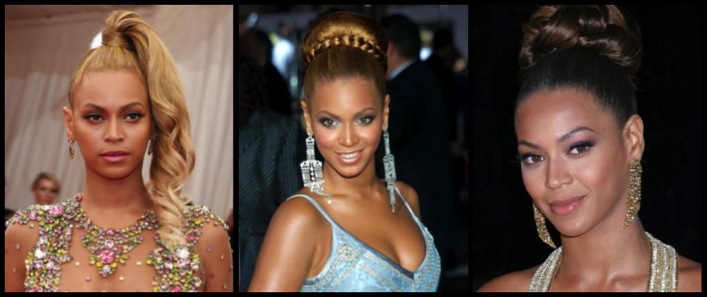 Beyonce acconciatura
