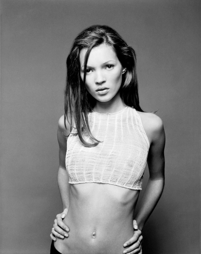 Kate Moss adolescente