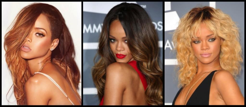 Rihanna colore capelli