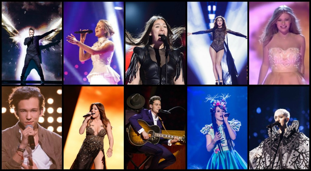 best look eurovision
