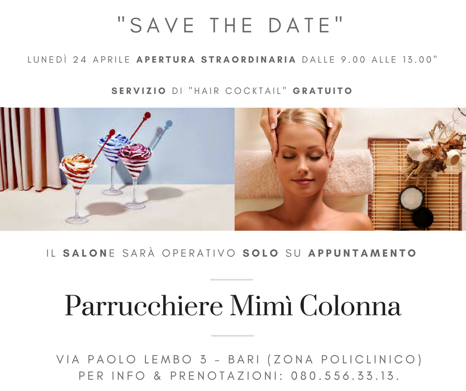 Open Day Benessere Capelli by Mimì Colonna feat. Z.One Concept