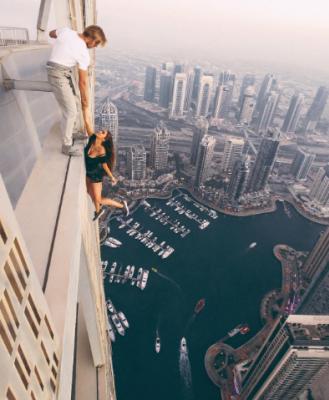 Selfie da brivido – Una moda da evitare!